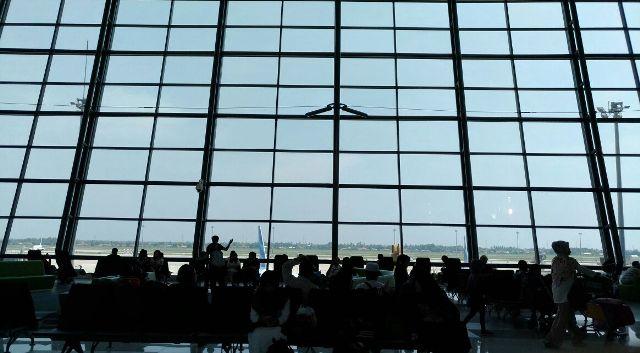 Cewek Seksi Bandara Jakarta