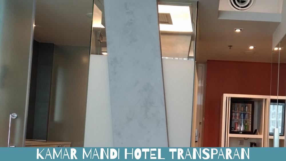 Kamar mandi Hotel Transparan