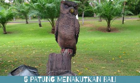 5 Patung Menakutkan Bali