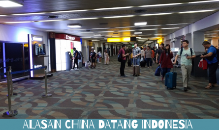 Alasan China Datang Indonesia