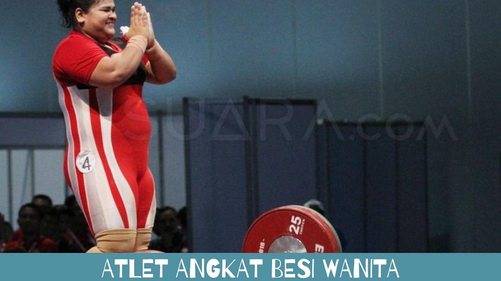 atlet angkat besi wanita