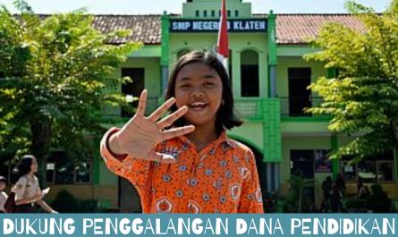 Dukung Penggalangan Dana Pendidikan