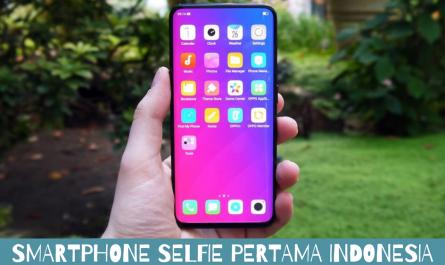 smartphone selfie pertama indonesia