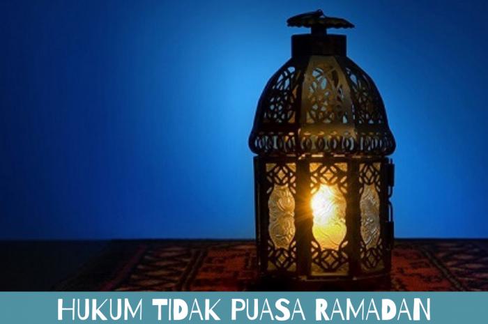 Hukum Tidak Puasa Ramadan Bagi Orang yang Malas