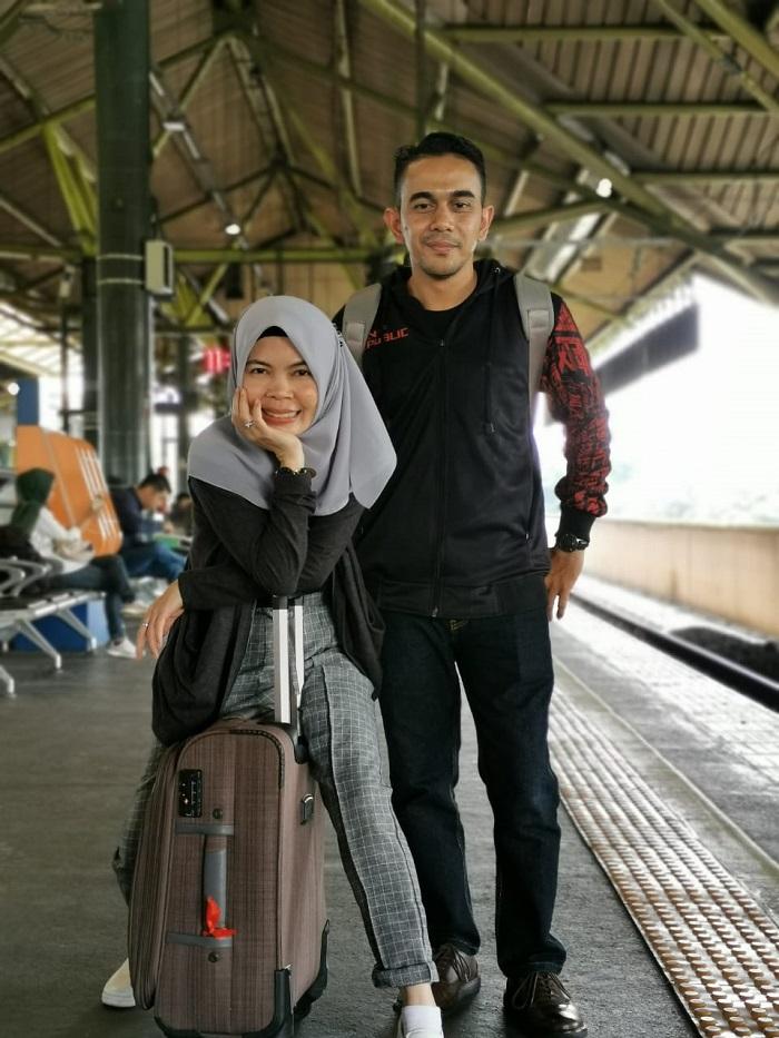 Pengalaman naik kereta api