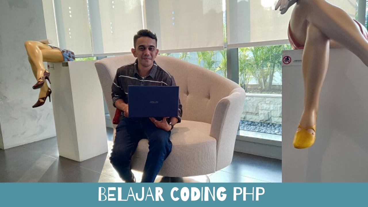belajar coding php mudah