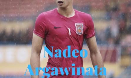 kiper ganteng Nadeo Argawinata