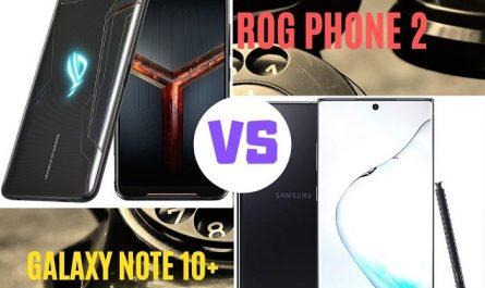 rog phone 2 vs samsung galaxy note 10