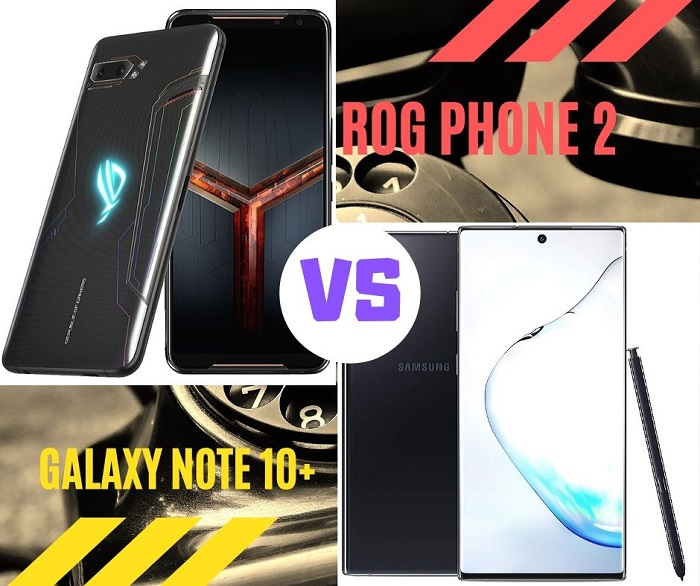 rog phone 2 vs samsung galaxy note 10
