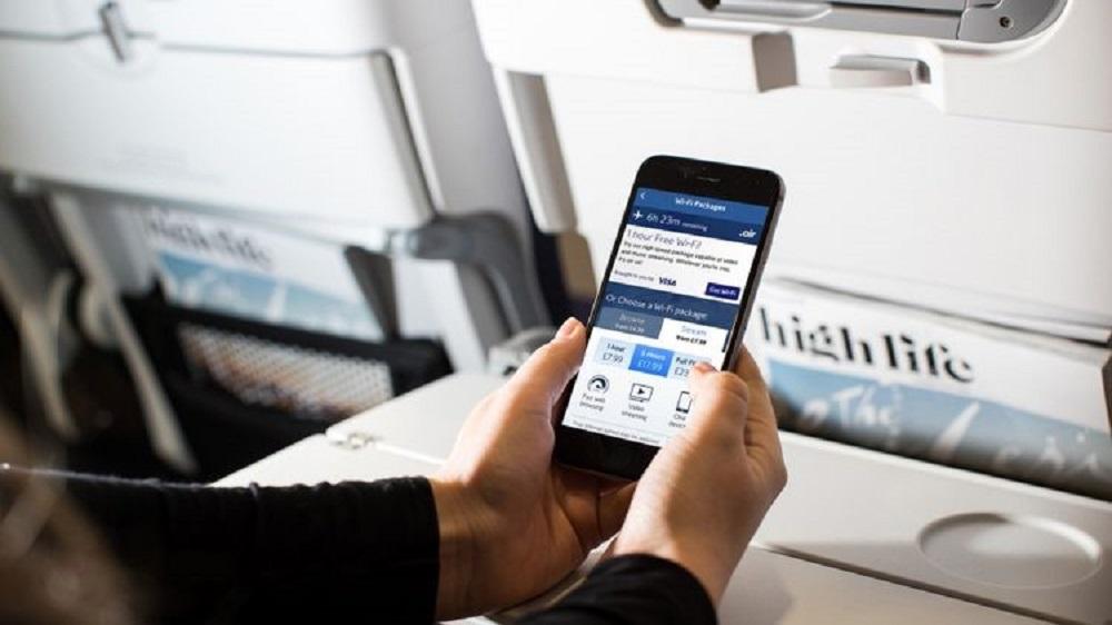 WiFi dalam Pesawat